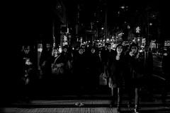 Night Faces (Jared Chernick) Tags: street blackandwhite newyork manhatten