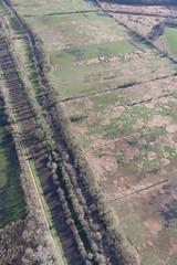 Canal de Nantes à Brest (Les pieds dans le vide) Tags: france canal europe aerialview prairie paysage fr marais fra paysdelaloire loireatlantique survol vueaérienne nantesàbrest fégréac