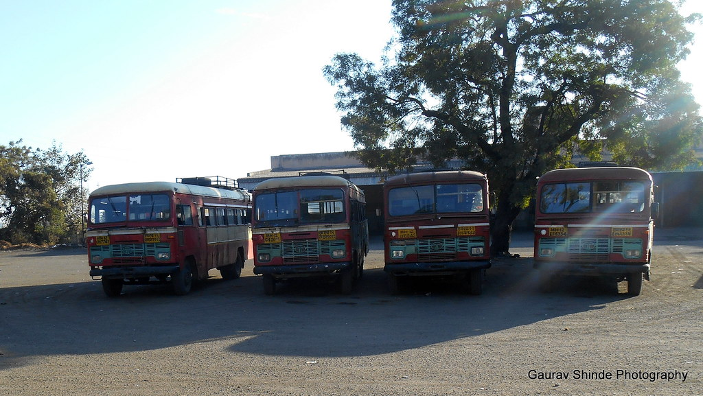 the world 39 s best photos of buses and msrtc flickr hive mind. Black Bedroom Furniture Sets. Home Design Ideas