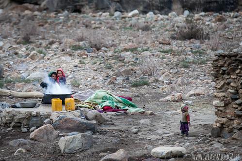 Po afgańskiej stronie rzeki