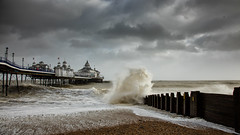 Imogen at Eastbourne (Eddie Hyde) Tags: storm beach sussex pier eastbourne