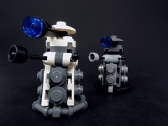 Exterminate! (MrKjito) Tags: david rose lego who 10 run sonic system doctor dalek minifig custom screwdriver exterminate tennant techinc