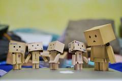 Danboard's Meeting (TwOoNeOnE) Tags: toy toys sony sigma brunei danbo bruneidarussalam 35mm14 a6000 danboard