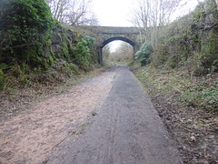 Penistone - Dunford Bridge old railway -  bridge under Bank House Lane (dave_attrill) Tags: bridge house building 1955 overgrown station manchester concrete office support closed sheffield great central platform engine picadilly bank railway tunnel ticket victoria junction upper trail lane don 1970 footpath remains dunford huddersfield woodhead bridleway barnsley gantry transpennine stopping wortley cycleway allweather electrification penistone electrified neepsend oxspring oughtibridge stocksbridge wadsley deepcar stationmasters thurgoland oughty