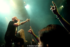 Benighted @ Dynamo (andre schrder) Tags: music netherlands metal concert nikon live stage gig eindhoven fullframe fx resistance tamron2875 gigphotography theblackdahliamurder benighted niksoftware d700 nikond700 adobephotoshopcs5 andreschrder concertswithnikond700 ragherrie dynao 05052016