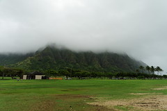 DSC03901_DxO_Grennderung (Jan Dunzweiler) Tags: beach strand hawaii cloudy oahu kualoa bewlkt kualoaregionalpark oahu