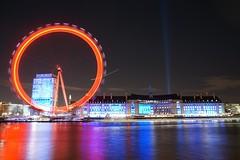 Another red eye (raindog) Tags: longexposure red london sony londoneye southbank riverthames embankment a6000