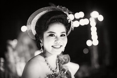 Thai Girl (siebe ) Tags: portrait people blackandwhite bw woman girl monochrome beauty thailand thai portret beautycontest beautypageant 2016        siebebaardafotografie