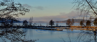 Lake at the end of December