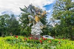 _71K4702.jpg (Pete Finlay) Tags: bali statue melody bedugul hindustatue balibotanicgarden