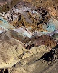 Artist's Palette, Death Valley National Park (Brown.Boots) Tags: california travel usa mountains nature landscape nationalpark desert hills deathvalley artistpalette coloredrocks