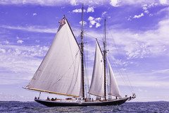 Revving Up (joegeraci364) Tags: ocean new wood sea england cloud seascape heritage nature water beauty weather festival race landscape outdoors boat marine ship oliver action yacht outdoor antique connecticut craft vessel columbia atlantic maritime when boating if sail and mast nautical perry brilliant amistad hazard mystic whaler roann