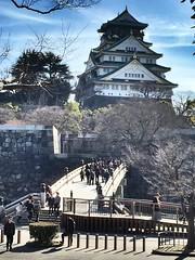 Castelo de Osaka. (marcelo.nakazaki) Tags: city cidade castle history japan arquitetura castelo osaka japo japon histria sia osakaj castelodeosaka