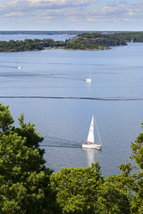Utkikstorn p norra Nmd (Anders Sellin) Tags: sea summer vacation point view stockholm north baltic sverige archipelago swede skrgrd nmd
