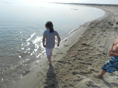 Going swimming at Long Point August 2015 13 (cambridgebayweather) Tags: swimming nunavut cambridgebay arcticocean susasim