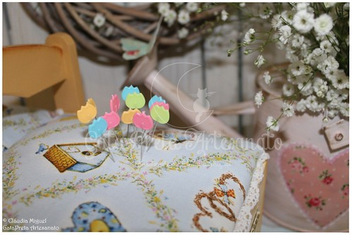 "Caixas de costura ""Sewing in the Spring Garden"""