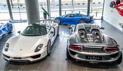 Porsche 918 Spyders... Three of them! (TAF27) Tags: porsche v8 918 weissach hypercar mexicoblue porsche918spyder 918spyder porsche918 weissachpackage