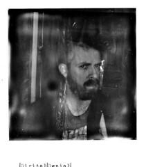 One (|Digital|Denial|) Tags: blackandwhite selfportrait analog polaroid punx expiredfilm instantphotography impossibleproject