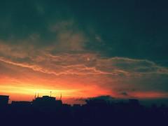 my stormy sky (ainulislam) Tags: sunset mobile amazing shot best dhaka bangladesh