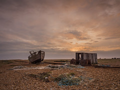 Dungeness (Damian_Ward) Tags: ocean sea beach photography coast boat kent fishing ship path craft vessel dungeness seafront damianward ©damianward