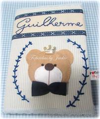 Caderno de Assinatura : Urso (Fofurebas - By Jackie) Tags: felt feltro ursos bebês recémnascido cadernodecorado cadernodeassinatura ursopríncipe