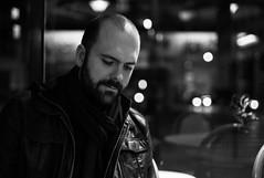 Baptiste (Digital-Fragrance) Tags: leica portrait white black paris bar night 35mm system m ii m8 nightlife asph nokton voigtlnder f12