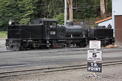 Speed Limit 5 (cymro76) Tags: station australia victoria narrowgauge belgrave puffingbilly garratt victorianrailways