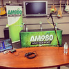 Batin' Time (22/08/2014) (Matthew Trevithick Photography) Tags: london ontario canada ca iphone iphone4s august 2014 am980 radio station setup debate municipalelection municipal headphones microphone playonwords