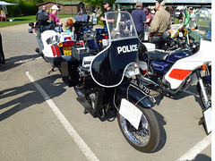 Police Bike (Emergency_Vehicles) Tags: museum day service emergency brooklands 2013