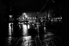 Notte torinese (Enrico Ferrini) Tags: life street city light urban blackandwhite italy torino italia child tourist piemonte turismo turin notte biancoenero piazzacastello tamron2470 copyrightenricoferrini nikond750