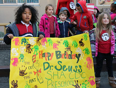 Dr. Seuss' Birthday at CDC (U.S. Army Garrison Japan) Tags: sha drseuss forward cdc birthdaycelebration campzama icorps usarj usagjapan