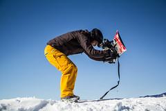 with a smile (anita.niza) Tags: mountains sport fun schweiz switzerland suisse snowboarder brienzerrothorn