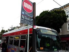 20160306 v-judah-bus (Jym Dyer) Tags: bus muni njudah sanfrancisco transit