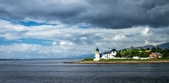 Corran Lighthouse (Superali007) Tags: sea sky lighthouse water canon landscape scotland highlands scenic scottish highland ecosse lochaber corran scenicsnotjustlandscapes canon7d corranlighthouse efs1585mmf3556isusm efs1585mm