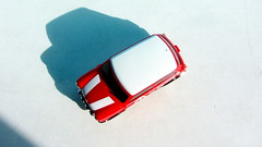 Canned Heat Radio Controlled Mini Cooper By Tyco R/C Mattel Incorporated 1998 : Diorama Boneville Salt Flats - 13 Of 21 (Kelvin64) Tags: by radio salt mini flats cooper heat canned 1998 rc mattel diorama incorporated controlled tyco boneville