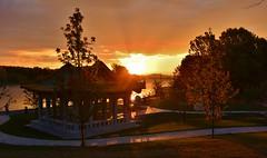 Canberra Sunset (~Jek~) Tags: geotagged australia canberra aus lennoxgardens australiancapitalterritory lakeburleygriffin geo:lat=3529904167 geo:lon=14912148000