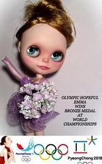 Blythe-a-Day April#6 Olympics/Olympia: Emma's Olympic Dreams...