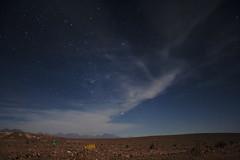 Atacama at night (sophs123.) Tags: chile travel summer nature night clouds america stars landscape long exposure desert south atacama latinoamerica