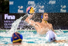 FINA Men's Water polo Olympic Games Qualifications Tournament 2016 - Trieste (ITA) (fina1908) Tags: blue italy white fina ita trieste waterpolo olympicgames qualification 2016 pallanuoto tournament2016 5guillermomolinaesp