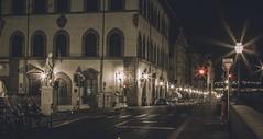 A Florence Midnight's Dream (Photo Alan) Tags: street city longexposure light urban italy building architecture canon florence italian dream streetphotography midnight canon2470mmf28 canon5dmarkii
