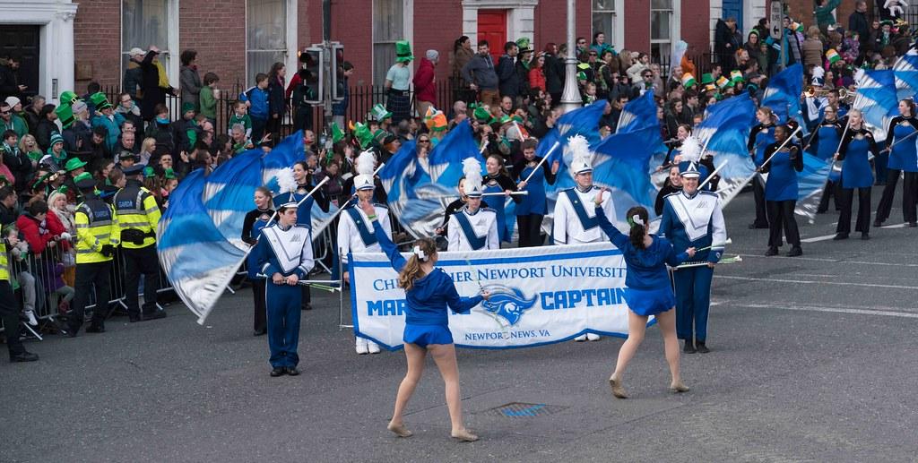 Christopher Newport University Marching Captains-112420