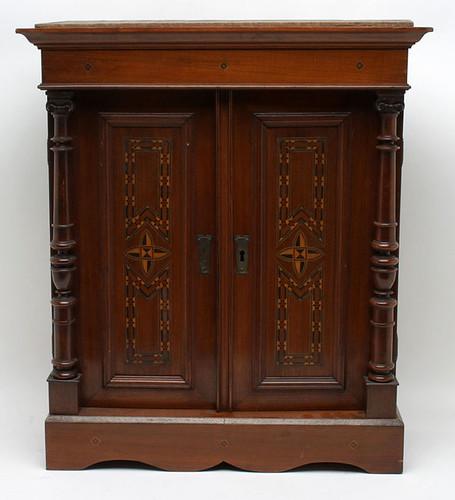 Reliquary Cabinet w/ Secret Compartments - $550.00