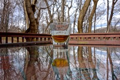 Jameson (ricko) Tags: reflections shotglass jameson irishwhiskey glasstabletop