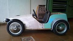 Bompa's Super 7 (pommes king) Tags: 2 car electric speed kid king dad lotus 7 pommes super panasonic grandchildren custom built drill screwdriver stijn bompa handbuilt deferm