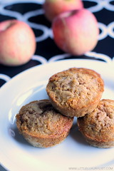 Gluten-free-sugar-free-apple-muffins-side-by-little-luxury-list. (little luxury list) Tags: food dessert recipes muffin sugarfree glutenfree