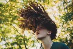 Movement (Rob Enns) Tags: portrait hair movement losgatos hairflip canon5dmarkiii dogwood52