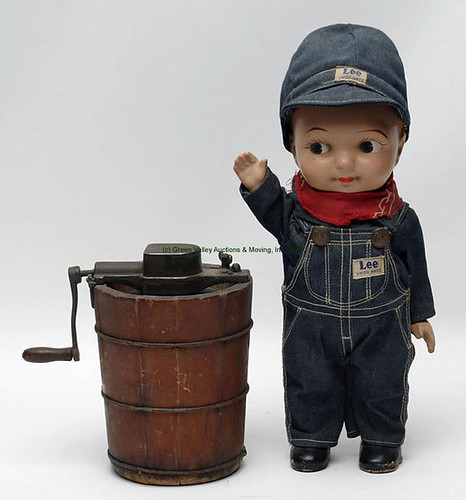 Salesman Sample Icecream Maker & Buddy Lee Doll - $242.00 & $132.00 (Sold June 19, 2015)