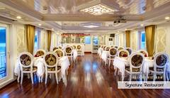 SRC - Restaurant & Bar (4) (Signature Royal Cruise) Tags: travel bar dinner restaurant boat cabin drink room vietnam meal dinning suites halongbay foodbeverage vietnamtour luxurycruise asiatour luxuryboat halongtour luxuryjunk signaturecruises signatureroyalcruise