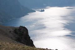 Phantom Ship Rock, Crater Lake National Park, Oregon (nikname) Tags: cascades craterlake cascademountainrange usanationalparks highcascades westerncascades craterlakenationalparkoregon phantomshiprock oregonstateforests highcascadescraterlakenationalpark stateparkstreesusanationalforests