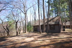 Cabin 18 at Fairy Stone State Park - 2 bedroom (vastateparksstaff) Tags: cabin exterior sleep lodging cinderblock accommodations overnight 2bedroom